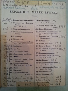 catalogue exposition 1927 1