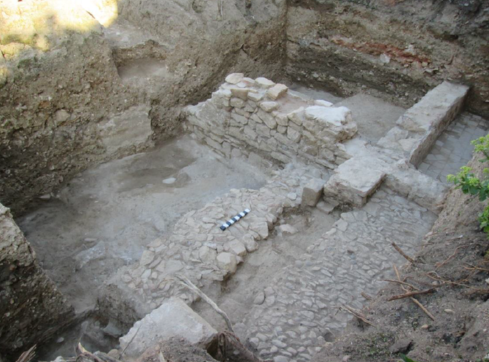 excavations terrain anexe synagogue